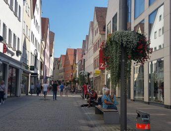 Mittlerer Teil der Wilhelmstrasse