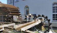 Das Wasserrad an der Alten Mühle