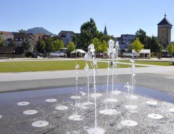 Die Wasserspiele im Bürgerpark