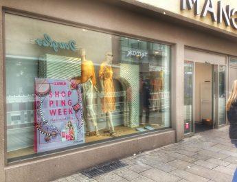 Mango - ein Store in Reutlingen, der an der GLAMOUR Shopping Week teilnimmt.