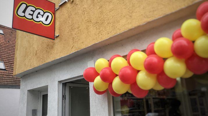 Das Steinelädle, ein neuer Lego Store in Reutlingen.