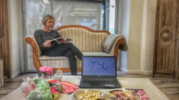 Gesundheitscoachin Tanja Suchan bei Podyum