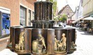 Der Zunftbrunnen – Szenen aus der Arbeitswelt von früher