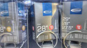 Das Kaufsortiment umfasst die wichtigsten Produkte für's Fahrrad