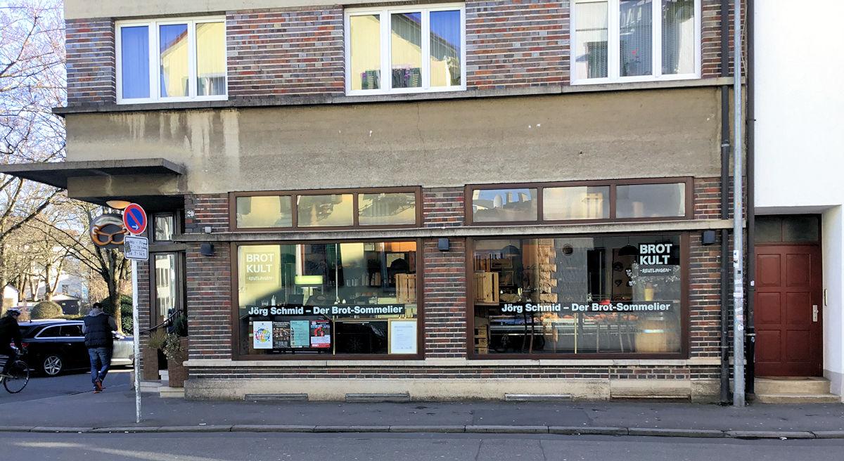 Brotkult der Laden von Jörg Schmid in Reutlingen