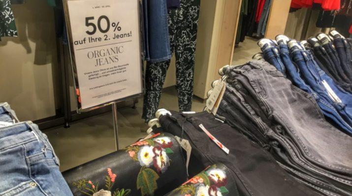 skinnyfit Jeans aus Biobaumwolle bei Mango