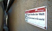 Die engste Straße der Welt, ein Weltrekord mitten in der Stadt