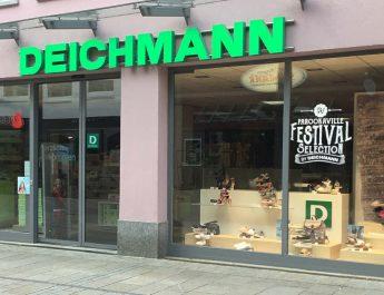 Deichmann Filiale in der Wilhelmstrasse Reutlingen
