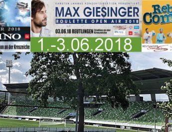Sommer Open-Air im Kreuzeiche Stadion Reutlingen