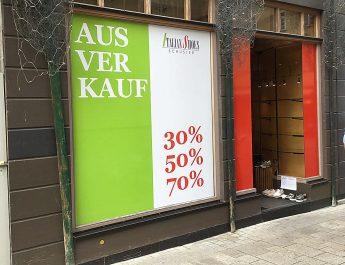 Italian Shoes in der Wilhelmstrasse schließt