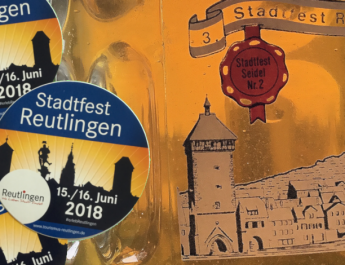 Stadtfest in Reutlingen am 15. und 16..6.