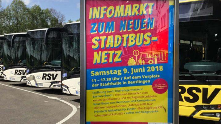 Plakat zur Infoveranstaltung Stadtbusnetz