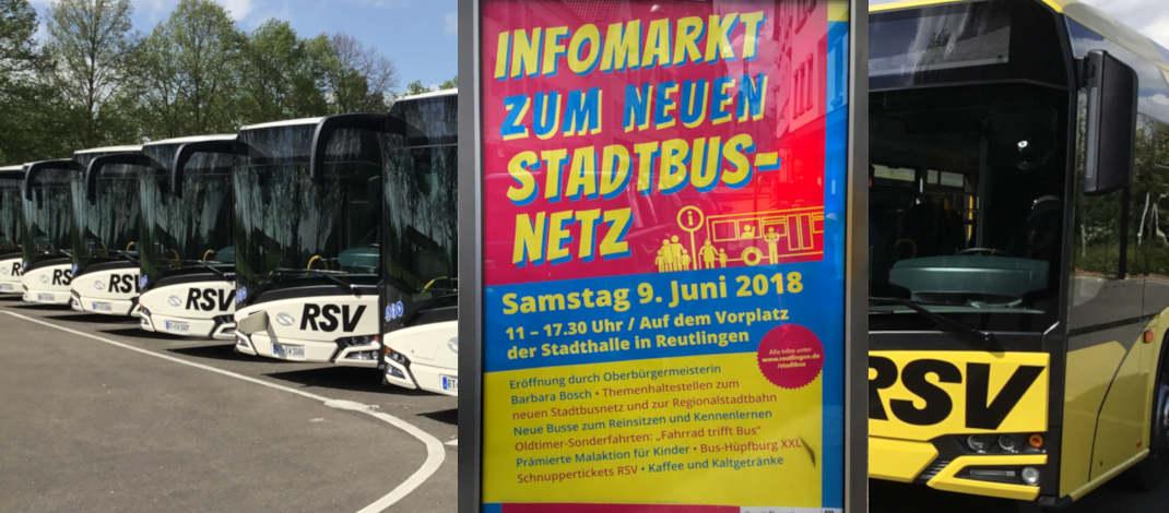 Infotag zum neuen Stadtbusnetz ab 2019