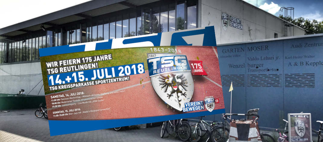 TSG Reutlingen feiert grosses Fest zum 175. Geburtstag