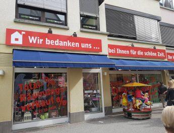 Eine Ära endet in Reutlingen – Haux Wohntextilien schließt
