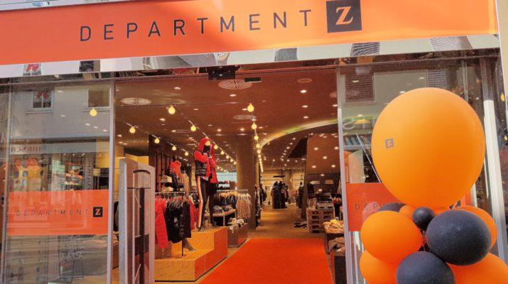 Neues Logo und neue Innenausstattung bei department Z in Reutlingen