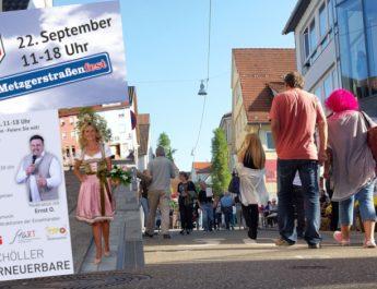 Metzgerstrassenfest am 22.9.2018