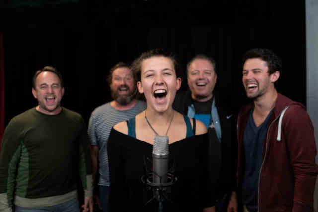 Hannah Herrlich Band tritt zweimal auf dem Reutlinger Weihnachtsmarkt auf