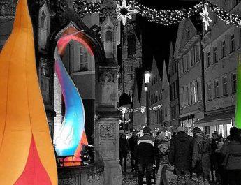 """Unter dem Titel """" Reutlingen leuchtet"""" lädt die Stadt zur verkaufslangen Nacht"""