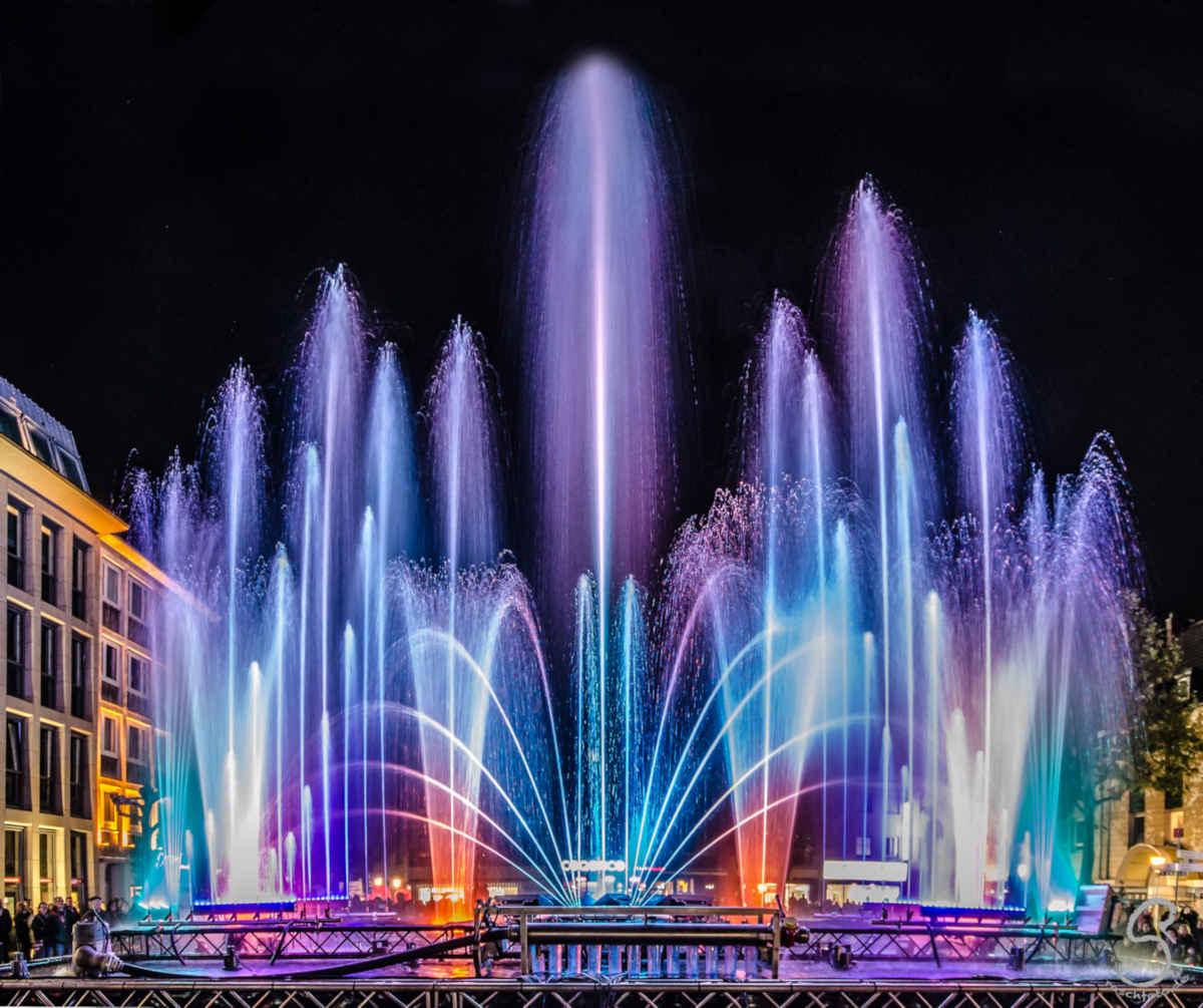 LED-Wassershow kommt auf den Reutlinger Marktplatz