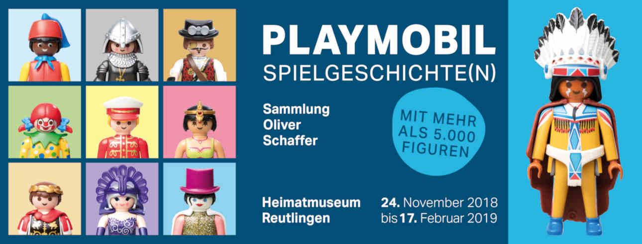 Playmobil Spielgeschichten vom 24. November 2018 bis 17. Februar 2019