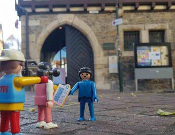 Weihnachtsausstellung im Heimatmuseum Reutlingen mit der Playmobil-Sammlung von Oliver Schaffer