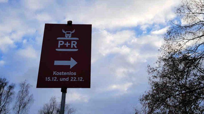 Reutlinger Park +Ride-Service am 3. und 4. Adventssamstag