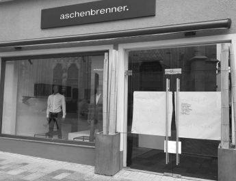 Herrenmoden Geschäft Aschenbrenner hat Filiale in Reutlingen zugemacht.