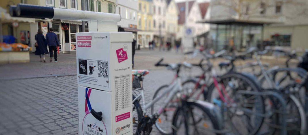 Fünf RadSERVICE Punkte in Reutlinger Innenstadt