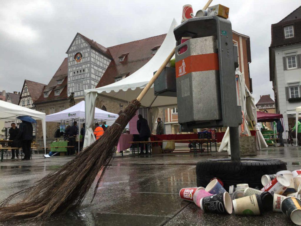 Müll-Aktionstag am 13.04.2018 jn Reutlingen