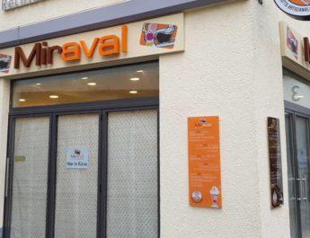 Aus Hubi's Eissalon wird Eisdiele Miraval