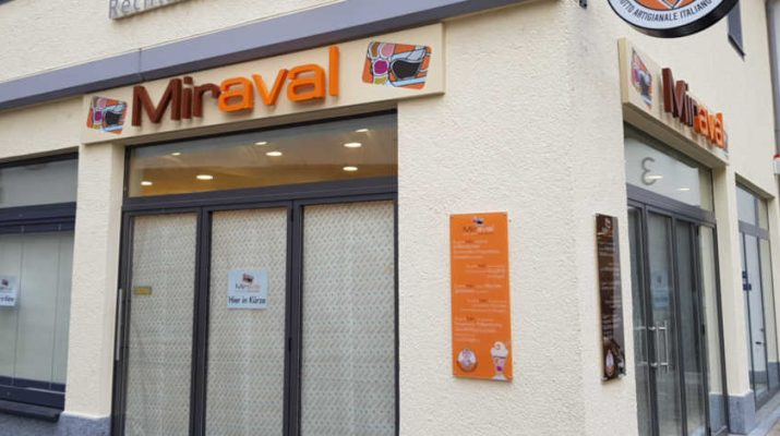 früher Hubis Eissalon, ab März 2019 Miraval