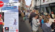 Händler in der Metzgerstraße laden zum Metzgerstraßenfest 2019