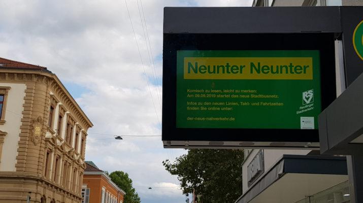 Das neue Stadtbusnetz geht am 09.09. in Echtbetrieb
