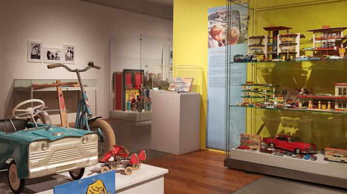 Spielzeug aus dem Wirtschaftswunder im Heimatmuseum Reutlingen