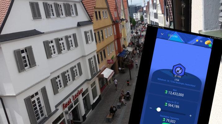 Reutlinger Immobilien im Online Game Landlord Go
