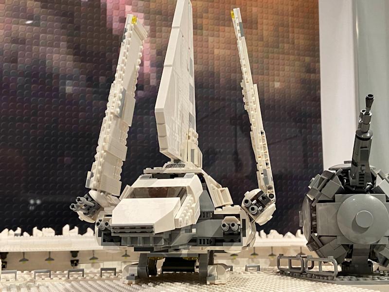 Imperialer Shuttle in der Lego Ausstellung in Reutlingen