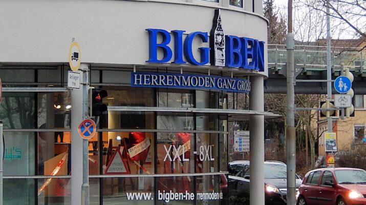 Big Ben Herrenmode in XXL schließt bald