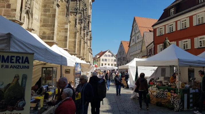 16. Toskanischer Markt im Oktober in Reutlingen