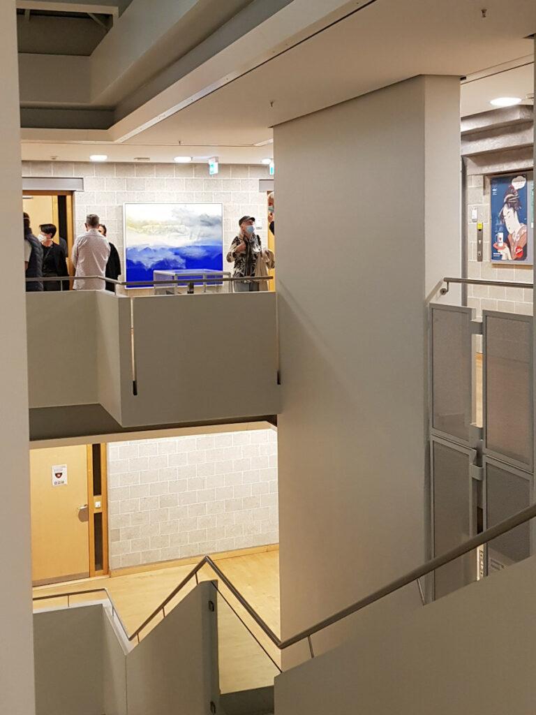 spannende Perspektiven in der Galerie der Vhs
