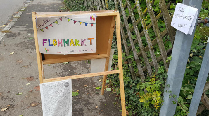 Quartiersflohmarkt im Ringelbach am 09.10.2021