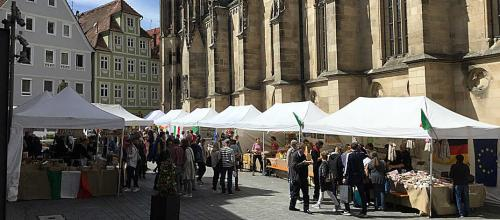 toskanischer markt 2019 in reutlingen markttreiben